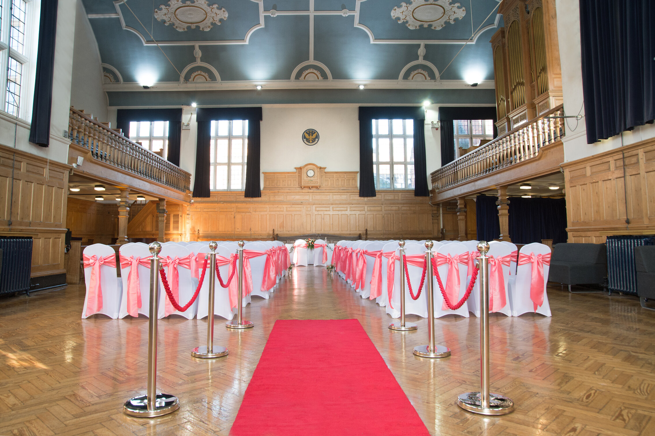 The Grand Hall Bedford Testimonials Banner
